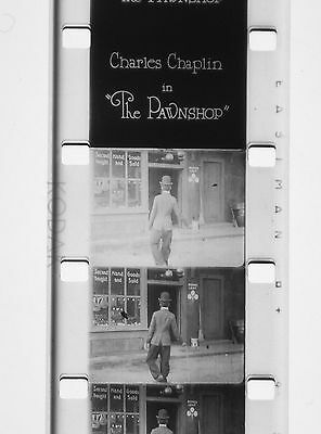 Film 16mm Burlesque THE PAWNSHOP Charlot Usurier 1916 Charlie CHAPLIN