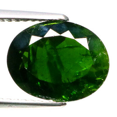 3.90 Ct Excellent Rearast 100%natural Green Chrome Diopside