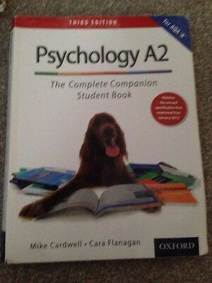 The Complete Companions: A2 Student Book for AQA A Psychology by Mike Cardwell,…