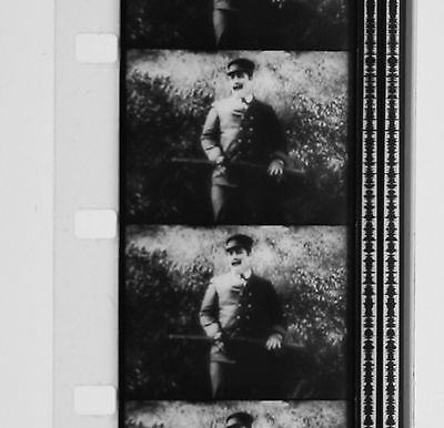 Film 16mm Burlesque THE ADVENTURER Charlot S'évade 1917 Charlie CHAPLIN