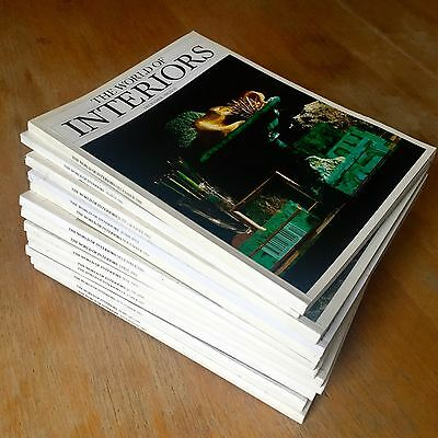 World Of Interiors Magazines - Huge Collection 210+ Issues