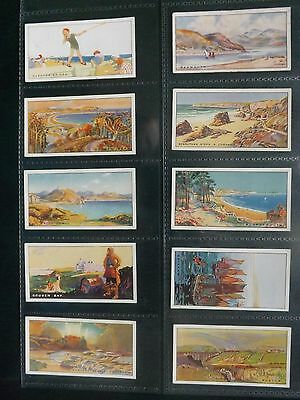 HOLIDAY RESORTS  -  F.& J. SMITH  -  ORIGINAL Complete Set of 25 - 1925 - EX/EX+