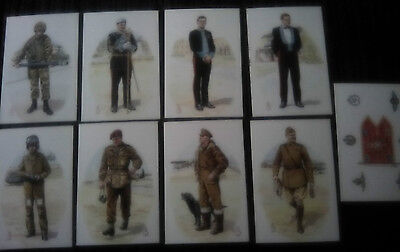 Set of Military Postcards Army Air Corps  Alix Baker