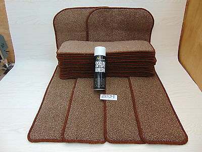 Stair pads 60cm wide 20 off and 2 Big Mats with a FREE can of SPRAY GLUE 2031