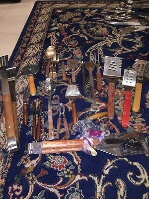 Bargain  Sale Cheap Bulk Lots Clearance Antique Vintage Mystery Collector Spoons
