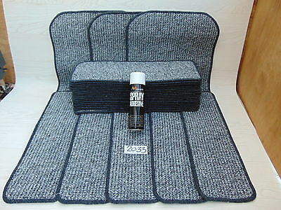 Stair pads 60cm wide 23 off and 3 Big Mats with a FREE can of SPRAY GLUE 2033-1