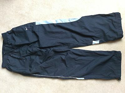 Black Nike AirMax tracksuit bottoms / trousers