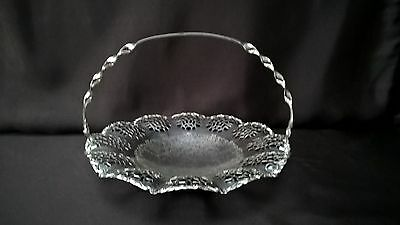 Silver Plated Pierced Handled Dish Bowl