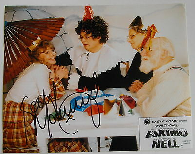 """Katy Manning Autograph Hand Signed Photo 10"""" X 8"""" * Dr Who - Jo Grant *"""