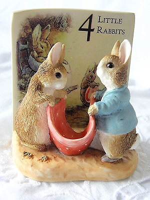 Border Fine Arts ~ Beatrix Potter ~ Little Rabbits~ Growing Up Figurines ~ Age 4
