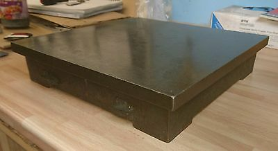 "Cast iron Surface Table / Plate 12"" x 12"""