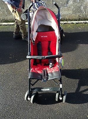 Be cool stroller/buggy red and black