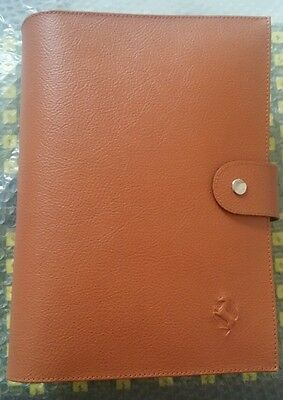 Ferrari Owner's Manuals Schedoni Leather Wallet