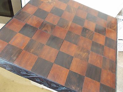 Vintage Antique Look Chess Board,nice Patina,large