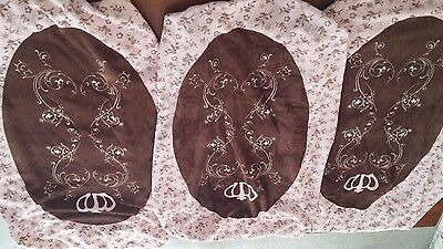 set of 3 changing table covers for girls