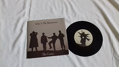"Echo & the Bunnymen 7"" - The Game - WEA records - 1987"