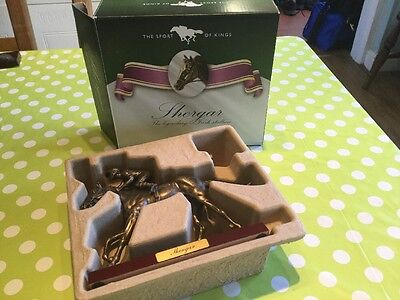 ATLAS EDITIONS 'THE SPORT OF KINGS' BRONZE HORSE-RACING FIGURINE - Shergar