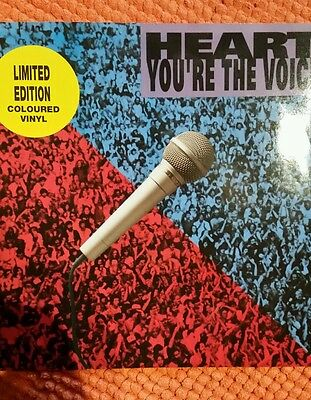 "Heart - ""you're The One""-  10 Inch Red Vinyl Single"