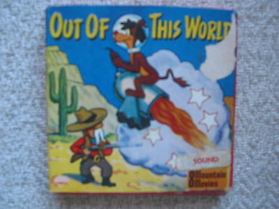 Out Of This World Super 8 Sound Cartoon Cine Film