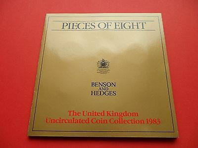 1983  Brilliant Uncirculated Coin Set - Promoted By Benson & Hedges