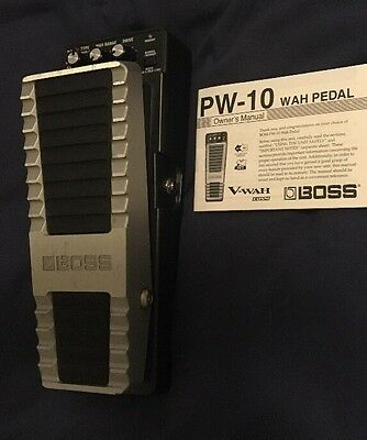 BOSS V-WAH - PW-10 - Digital Wah Pedal with Overdrive and Multiple FX
