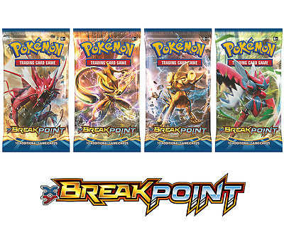 XY BREAKpoint Booster Pack | Pokemon TCG | Brand New & Sealed