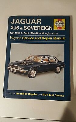 jaguar xj6 sovereign haynes manual