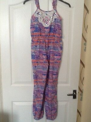 girls summer jump suit aged 11/12 years from george