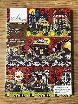 Anita Goodesign Embroidery CD - Haunted Village (ALL ORIGINAL)