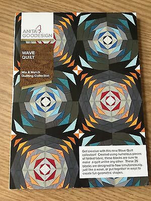 Anita Goodesign Embroidery CD - Wave Quilt (ALL ORIGINAL)