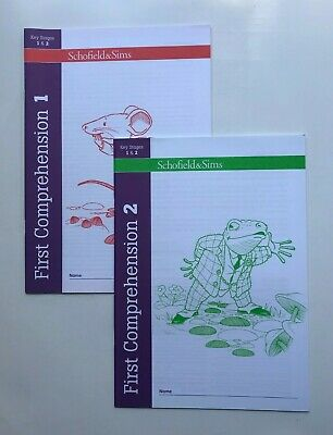 Schofield&Sims First Comprehension School Workbook Pack Age 6-8 KS1 & 2 Year 1,2