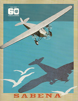 Aviation: Sabena Review, 60 Year of Experience, 1923-1983