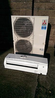 Mitsubishi Air Conditioning 10Kw WALL Mounted Inverter Heat Pump Complete PUHZ