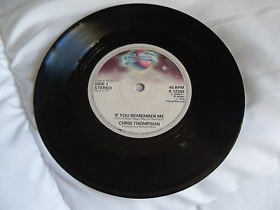 RECORD 45rpm  CHRIS THOMPSON - Theme from the Champ