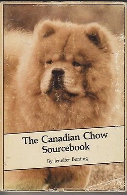 Vintage Chow Chow  Book The Canadian Chow Sourcebook