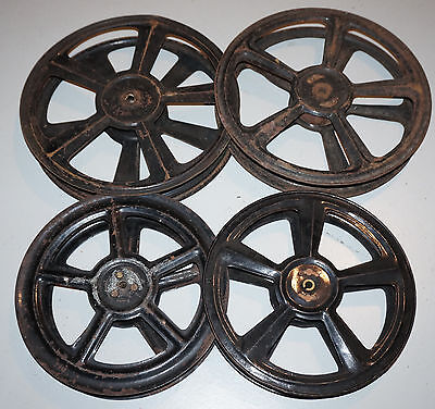 4 bobines vides PATHE 35mm