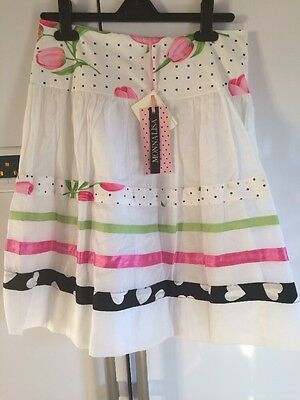 Girls Monnalisa Skirt Age 12 New With Tags