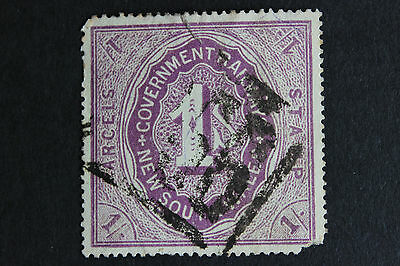 New South Wales 1 Shilling Parcels Stamp Used