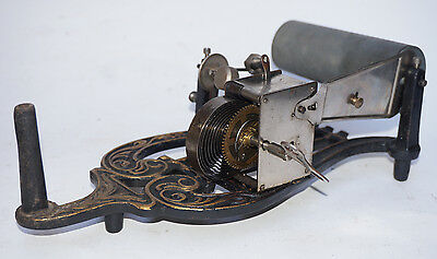 PHONOGRAPHE LYRE Puck Cylindre gramophone Lioret