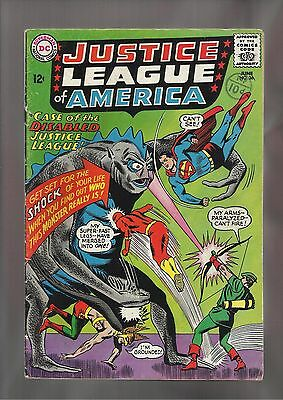 DC Justice League of America #36 VG+ (4.5) Silver Age