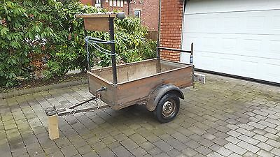 Trailer with Ladder Rack