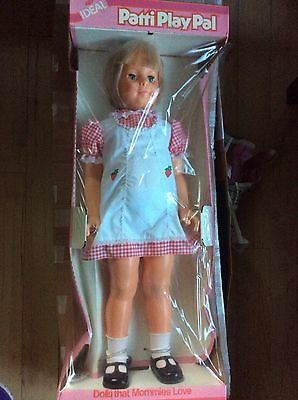 "MINT Vintage 1981 Patti PlayPal Life Size 35"" Doll Sealed in Original Box Ideal"