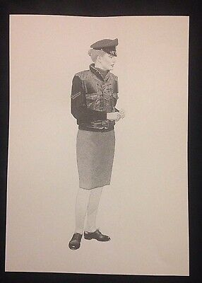 A3 WOMANS ROYAL ARMY CORPS PROVOST WRAC RMP Op BANNER PRINT