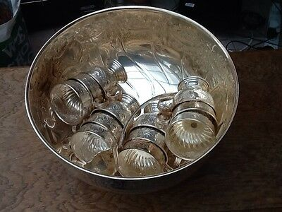 Silver Plated Punch Bowl