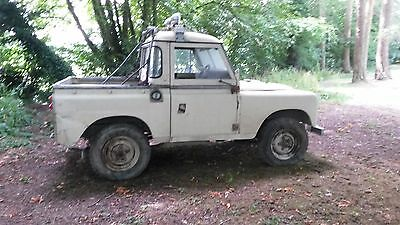Land Rover Series 3 Pick up 1974