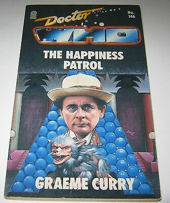 Doctor Who The Happiness Patrol by Graeme Curry 1990 Target Paperback Book