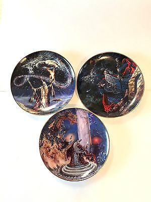 The Franklin Mint Royal Doulton Dragon Collection Plates Myles Pinkney
