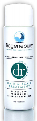 Regenepure - DR Shampoo, Hair and Scalp Treatment, Supports Hair Growth, 8 Oz