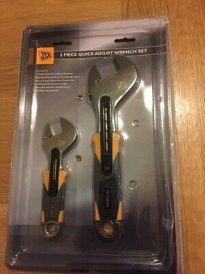 JCB Quick Adjustable Wrench Set 250mm+150mm