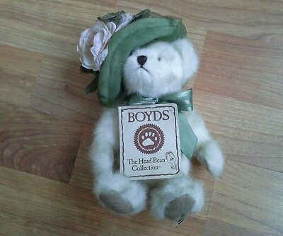 """Boyds """"Mimi Chapeau"""" The Head Bean Collection, Hats & Such Series"""